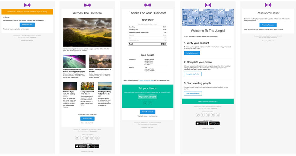 Responsive HTML Email Templates For Download - Build an html email template from scratch