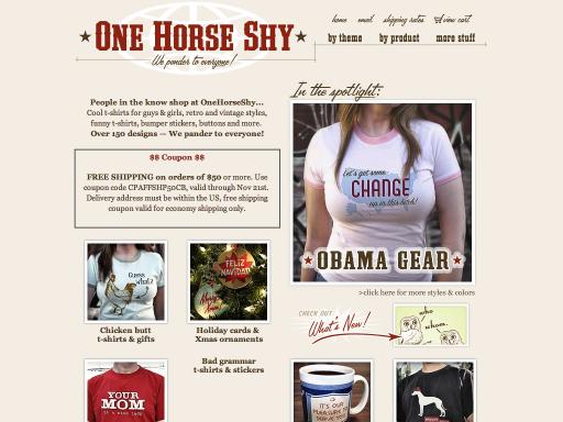 One Horse Shy