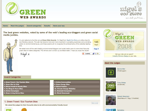 Green Web Awards