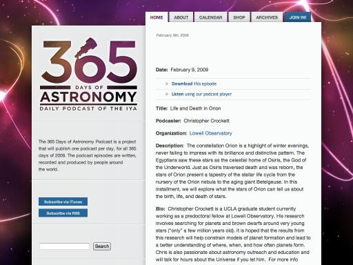 365 Days of Astronomy