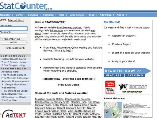 statcounter.com